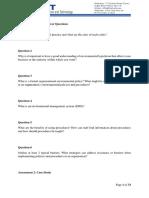 ISO Standard Case Study