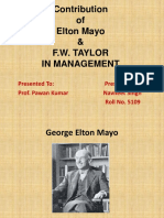 Contribution of Elton Mayo.pptx