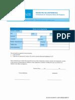 Formulario de Inscripción al Registro de Mujeres Aspirantes a Choferes de Colectivo