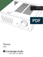 Topaz SR20 Users Manual English