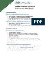 3.UWC BiH Aplikacijski Formular 2018