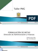 Presentación Final PMG 2016 Taller Formulación 1