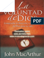 Estudio de la Voluntad de Dios