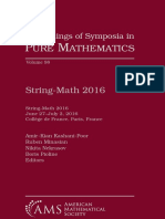 (Proceedings of Symposia in Pure Mathematics 98) Amir-Kian Kashani-Poor, Ruben Minasian, Nikita Nekrasov, Boris Pioline, Editors-String-Math 2016-American Mathematical Society (2018).pdf