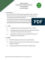 Proposal Kegiatan Upacara k3 Plc Thn 2018