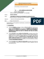 Informe de Conformidad de Servicio de Mantenimiento - Reforma