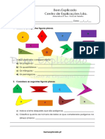 2.2 - Polígonos. Notações e Classificações - Ficha de Trabalho (1)