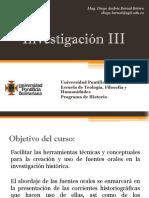 Unidad 0 Introducción y programación Investigación III