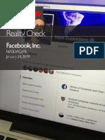 Facebook 50% Users Fake