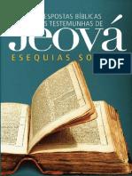 Respostas Bíblicas Às Testemunhas de Jeová Esequias Soares
