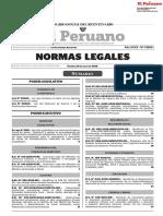 Publicación Oficial Diario El Peruano