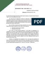 Comunicado N° 3 CER CRO III
