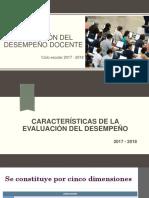 evaluación docente 2017