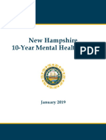 New Hampshire 10-Year Mental Health Plan