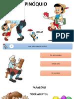 Quiz Pinoquio