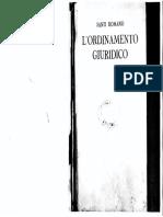Ordinamento Giuridico - Santi Romano