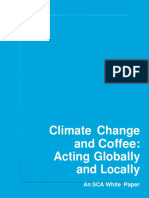 Climate Change and Coffee Acting Globally and Locally