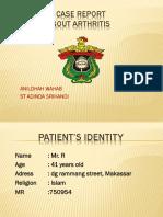 Lapsus Reuma Nildah, Dinda (Gout)