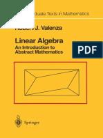 Linear Algebra Valenza