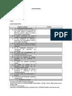 Anexo 4. Lista de Chequeo BPM Herramienta de Medición Para Las Auditorias Basados en Resolución 2674., Plan de Auditoria.