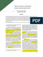 1 - Velloso, M. - Os Intelectuais e a Política Cultural No Estado Novo