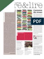 Livre et Lire numéro 255 - Octobre 2010