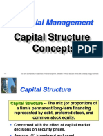 Capital Structure concepts