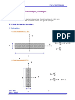 Caractéristiques Géométriques Fin V