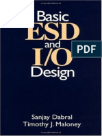 Sanjay Dabral, Timothy J. Maloney - Basic ESD and IO Design (1998, Wiley-Interscience)