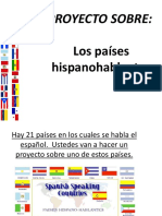 Proyecto Los Paises Hispanohablantes