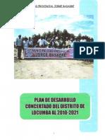 Plan Desarrollo Concertado Hasta 2021