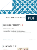 Pathology 2019 Recent Exam
