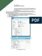 Configuración OPC Server
