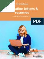Motivation Letters Resumes
