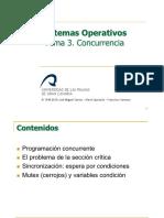 Sistemas operativos. Concurrencia