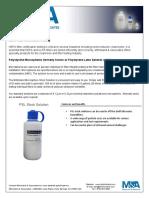Polystyrene Specification Sheet