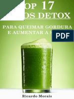 Receitas Grátis de Sucos Detox Para Queimar Gordura