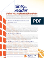 9 Points to Consider Before You Implement SharePoint.tip.Top10Mimosa_0911_win