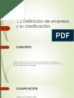 1.2 Definicion de Empresa y su Clasificasion.pptx