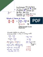 Teorema de Thales 2 Incognitas