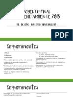 Proyecto Final Barquitectura y Medio Ambiente 2018