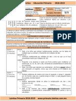 Octubre - 3er Grado - Examen Mensual (2018-2019)