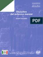 Derechos Del Enfermo Mental - Libro