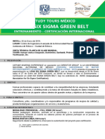 Lean Six Sigma Green Belt Upc