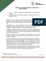 22-12-2018 INAUGURA EL GOBERNADOR LA SÉPTIMA EDICIÓN DE LA MEGA FERIA MUNDO IMPERIAL
