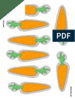 Zanahorias para comer