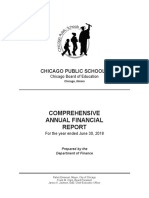 Chicago Public Schools FY18 annual financial report