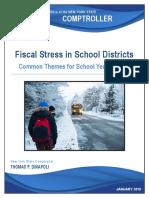 Fiscal Stress School Year 2017 18