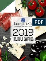 Lettieri & Co. 2019 Product Catalog