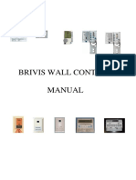 Brivis Wall Control Manual